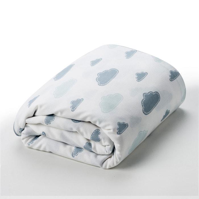 """Image Housse de couette pur coton lit bébé, """"Dans les nuages"""" R baby"""