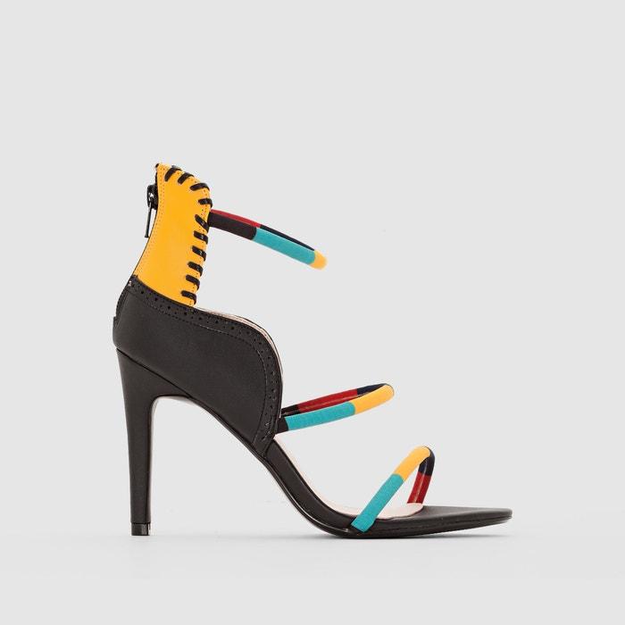 Bild Sandaletten mit bunten Riemen R studio
