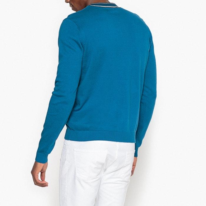 contraste a Collections La pico Jersey con de Redoute cuello U87qwSOqTx