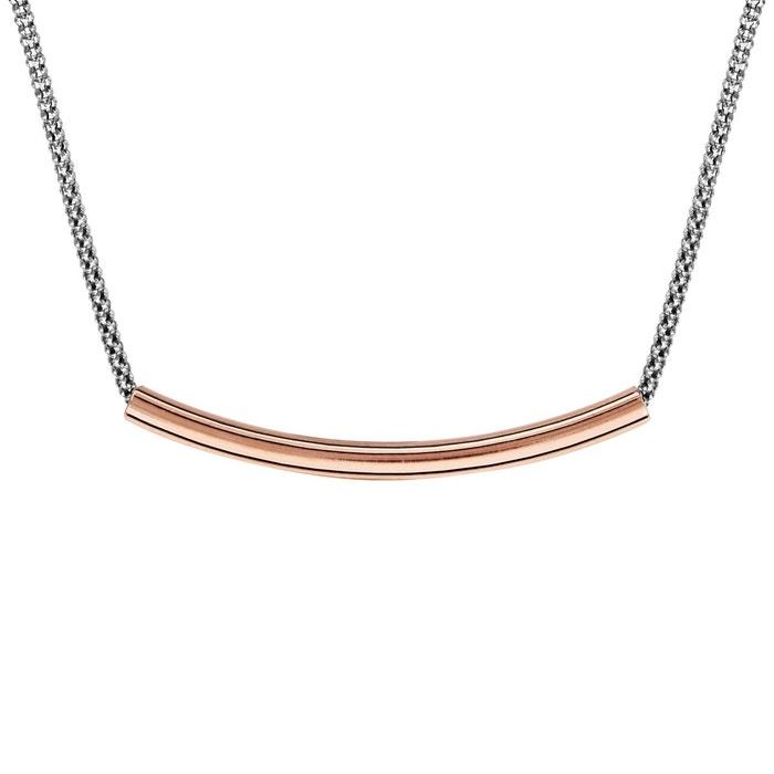 Vente Boutique Collier longueur réglable: 40 à 45 cm tube dorure rose argent 925 couleur unique So Chic Bijoux | La Redoute Prix Des Prix Pas Cher 4GPtlJv