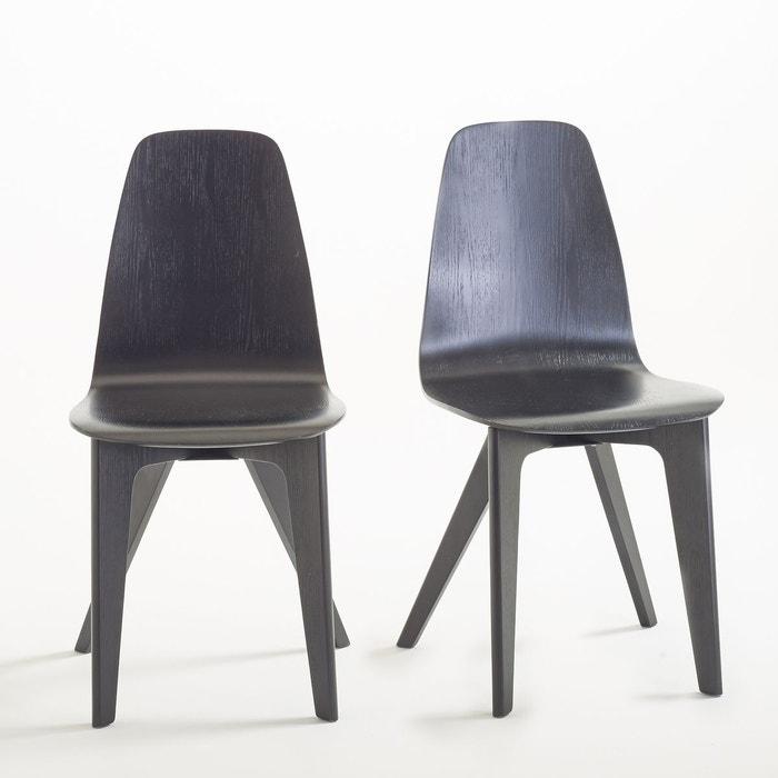 Chaises Coque Design Biface Lot De 2 La Redoute Interieurs