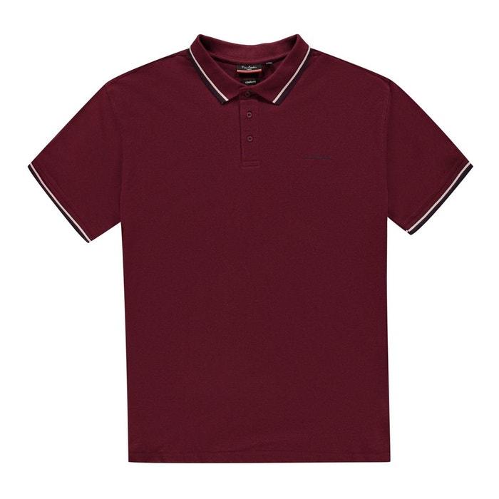 6790e946cb6 Polo t-shirt classique manche courte coupe large Pierre Cardin