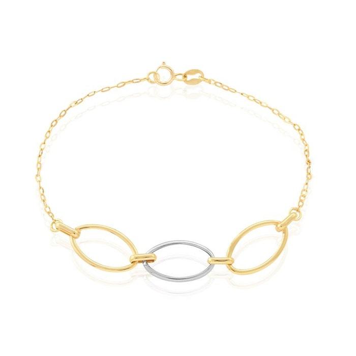 Bracelet or lucia bicolore Histoire D'or | La Redoute Jeu En Ligne tgyezXxT