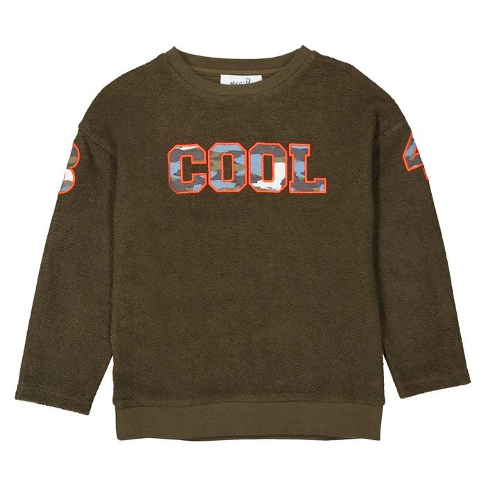 Oversized Sweatshirt, 3-12 Years  La Redoute Collections image 0
