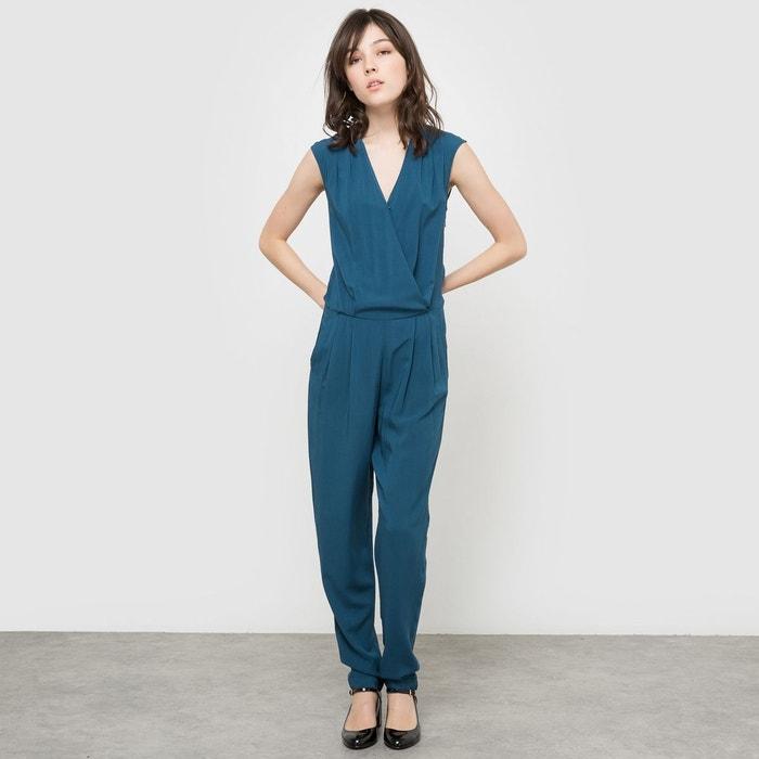 combipantalon manches courtes bleu la redoute collections la redoute. Black Bedroom Furniture Sets. Home Design Ideas