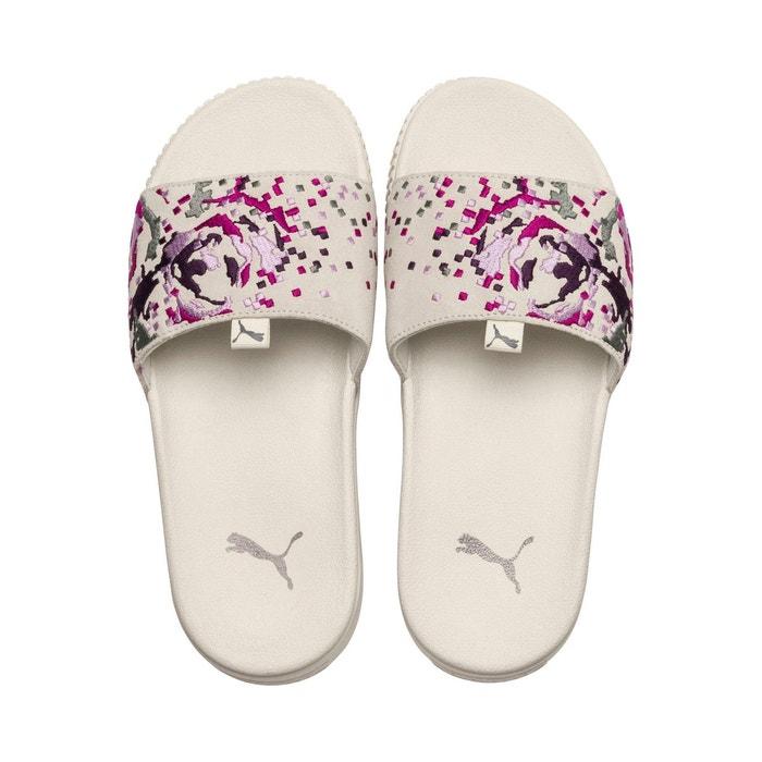 Sandales pour femme Slide Platform Bold Embroidery PUMA dRg6qnd