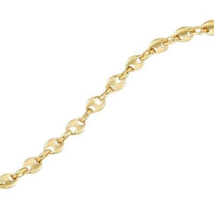 Bracelet 21 cm grain de café plaqué or 750 couleur unique So Chic Bijoux | La Redoute Livraison Gratuite Combien Acheter Pas Cher Livraison Gratuite oaVmu