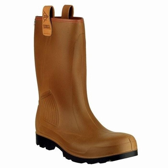 Dunlop r-air c462743 - bottes de sécurité non-doublées - homme marron Dunlop