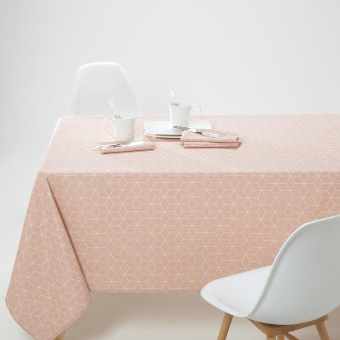 afbeelding Bedrukt tafellaken in tergal, Diamond La Redoute Interieurs