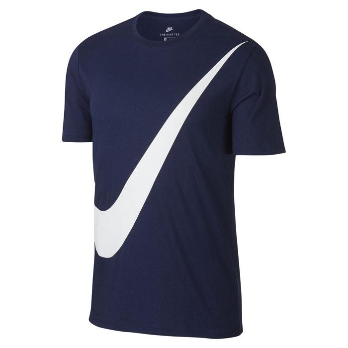 T-shirt de gola redonda, motivo à frente  NIKE image 0