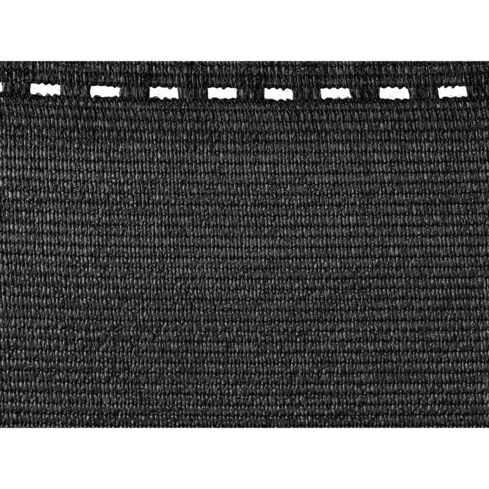 brise vue synth tique gris anthracite 10 m x h 2 00 m. Black Bedroom Furniture Sets. Home Design Ideas