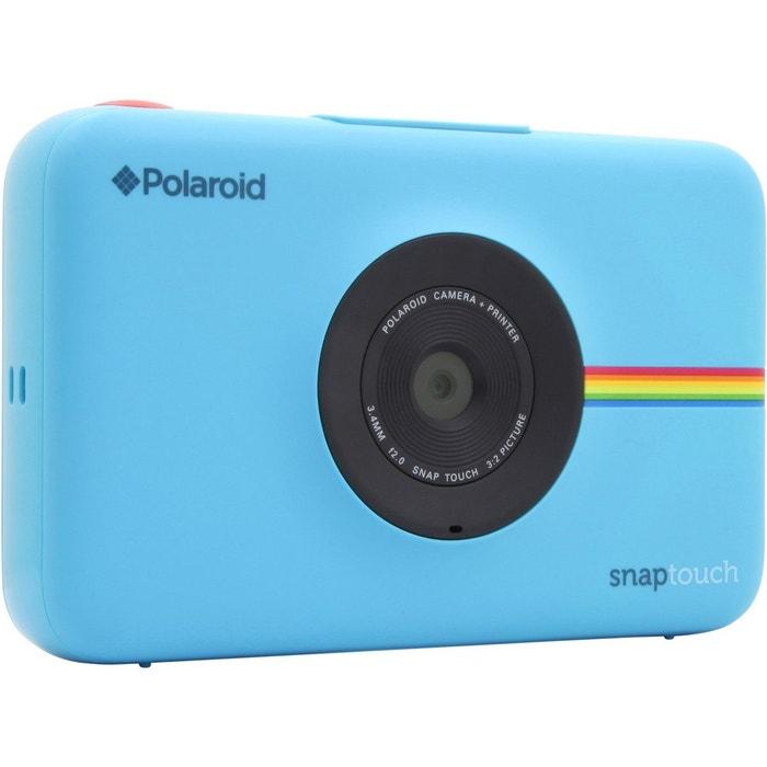 appareil photo instantan polaroid snap touch bleu polaroid la redoute. Black Bedroom Furniture Sets. Home Design Ideas