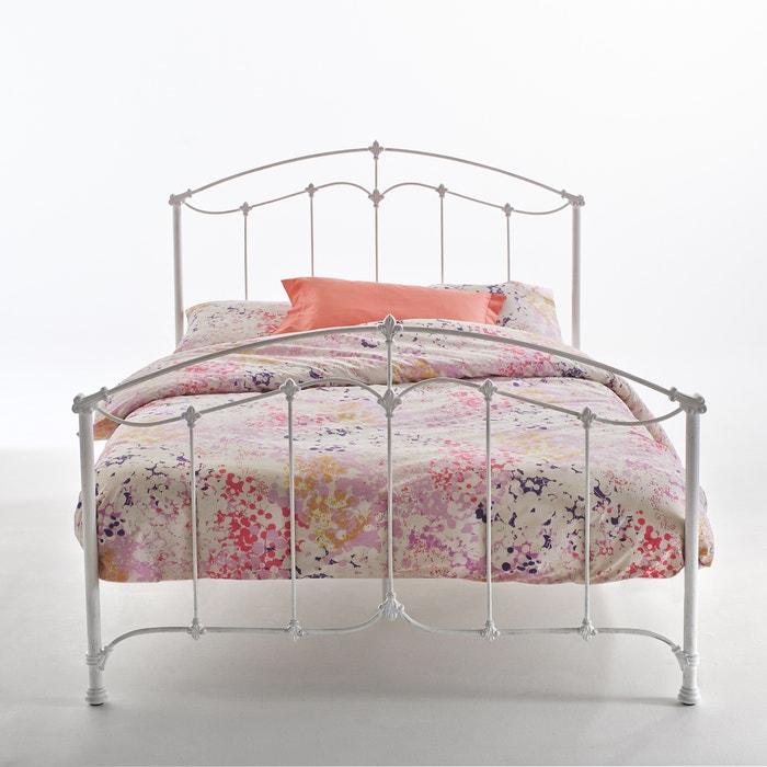 Bed in metaal aimone wit la redoute interieurs la redoute - Decoratie volwassen slaapkamer ...