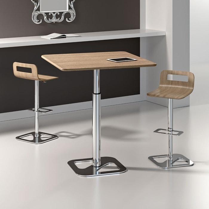Table manger r glable design outline effet b ton zendart for Table a manger effet beton