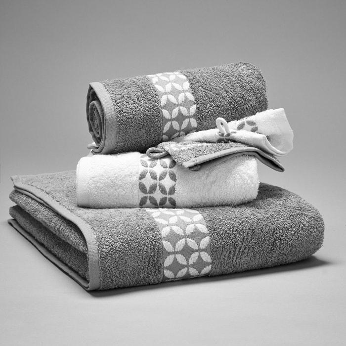 Lote de 1 toalha de banho + 2 toalhas + 2 luvas, 420g/m2 La Redoute Interieurs