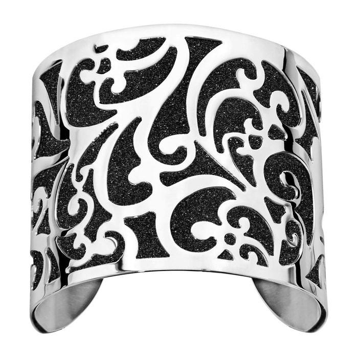Pour Pas Cher À Vendre Bracelet manchette aspect granit noir acier inoxydable couleur unique So Chic Bijoux | La Redoute Trouver La Sortie Grand r81yRejsG