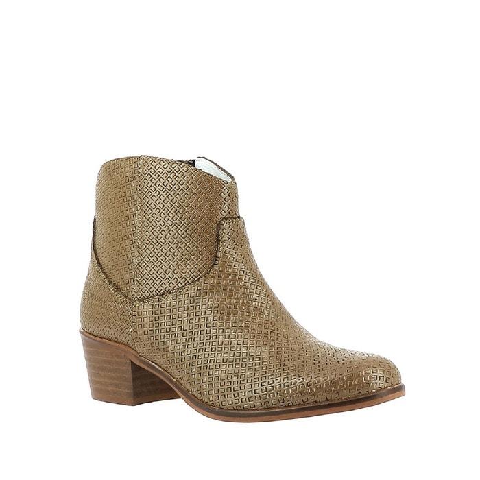 Elizabeth Stuart COPPER 326 COGNAC - Chaussures Bottine Femme