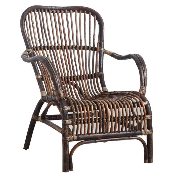 fauteuil en rotin antique brun aubry gaspard la redoute. Black Bedroom Furniture Sets. Home Design Ideas