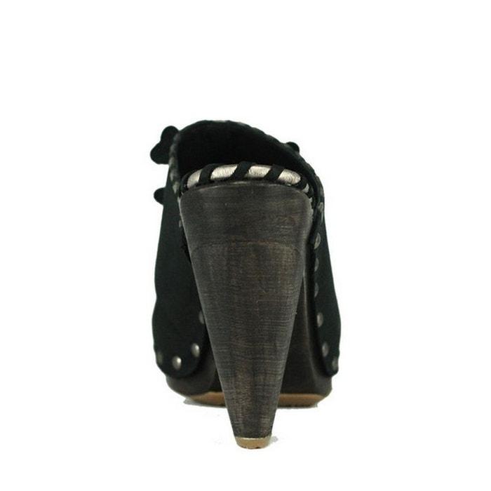 cuir PRING en femme Chaussure CLOG SKULLY PARIS SFrFqI