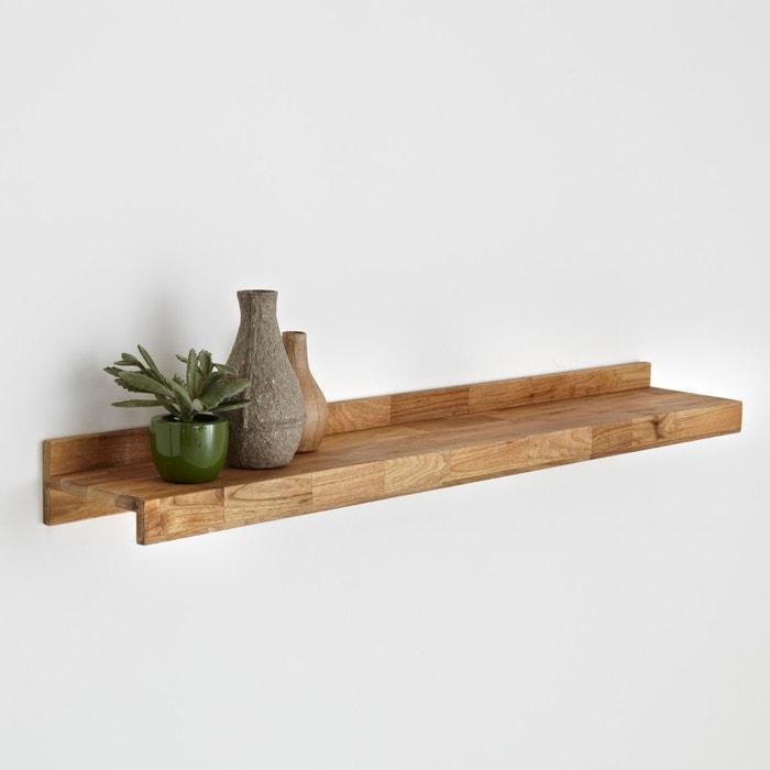 Image Étagère, chêne massif abouté et acier, Hiba La Redoute Interieurs