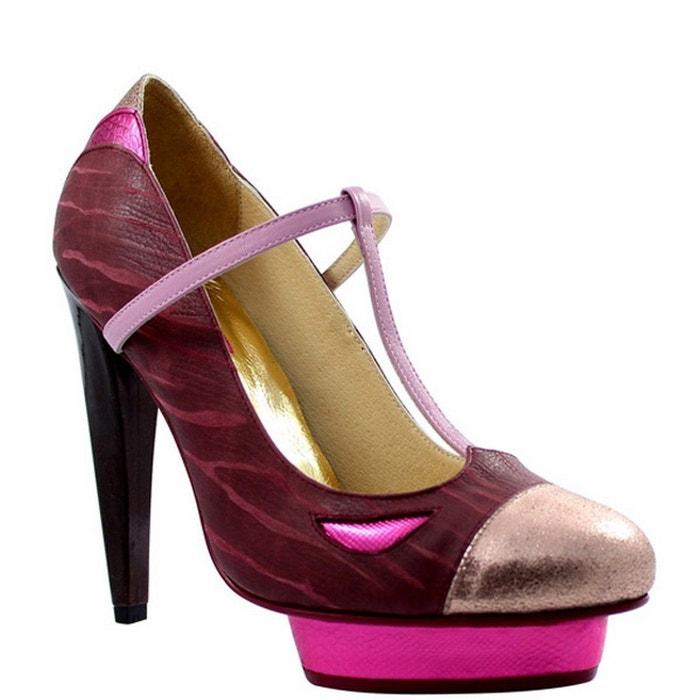 Chaussure femme en cuir ELODIE Dw0OX9fY8