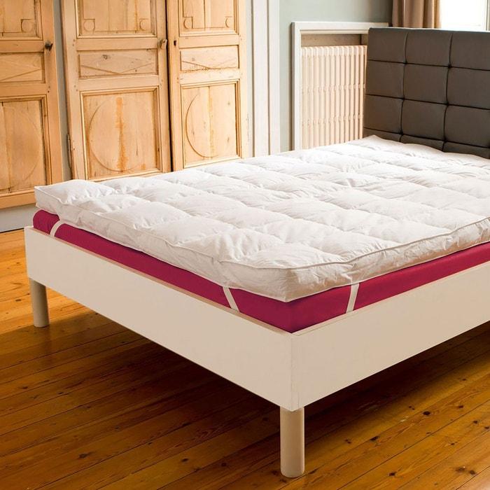 surmatelas surconfort duo blanc drouault en solde la redoute. Black Bedroom Furniture Sets. Home Design Ideas