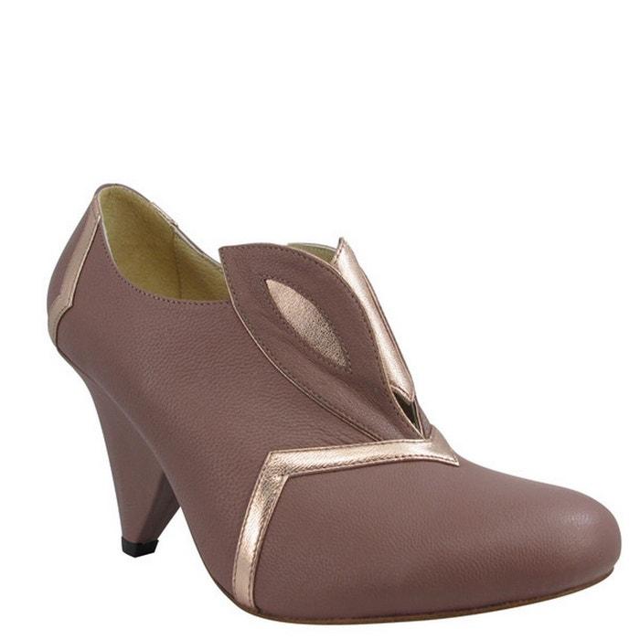 Chaussures femme en cuir dina Pring Paris