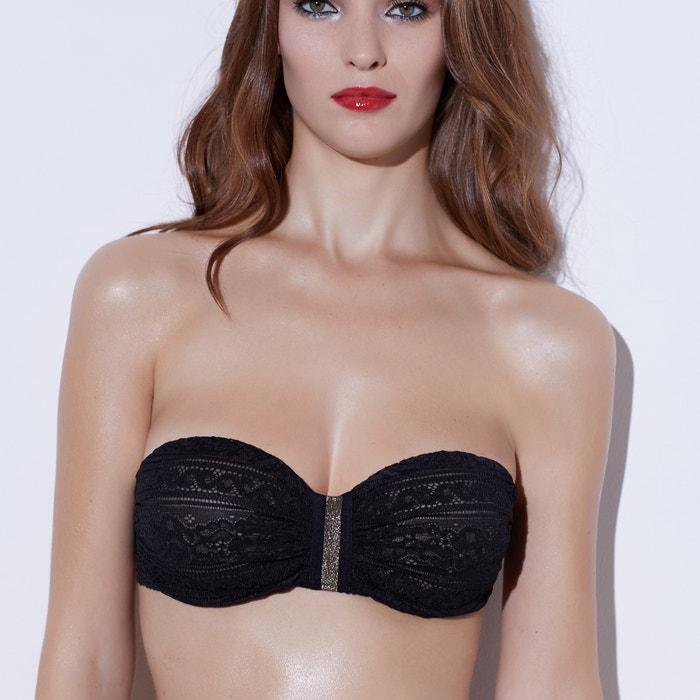 Image Soutien-gorge bandeau en dentelle de France Sophie Malagola x La Redoute