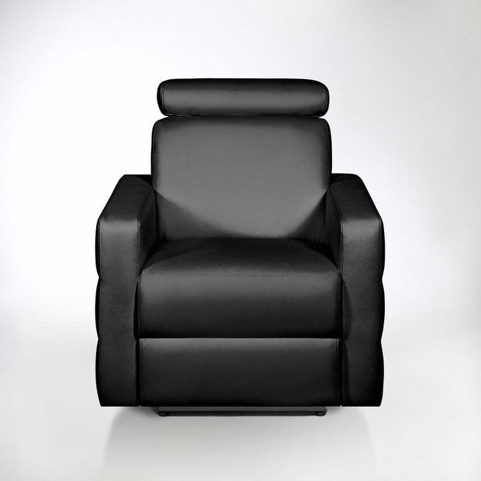 Fauteuil de relaxation lectrique cuir hyriel la redoute interieurs la red - Fauteuil relax solde ...