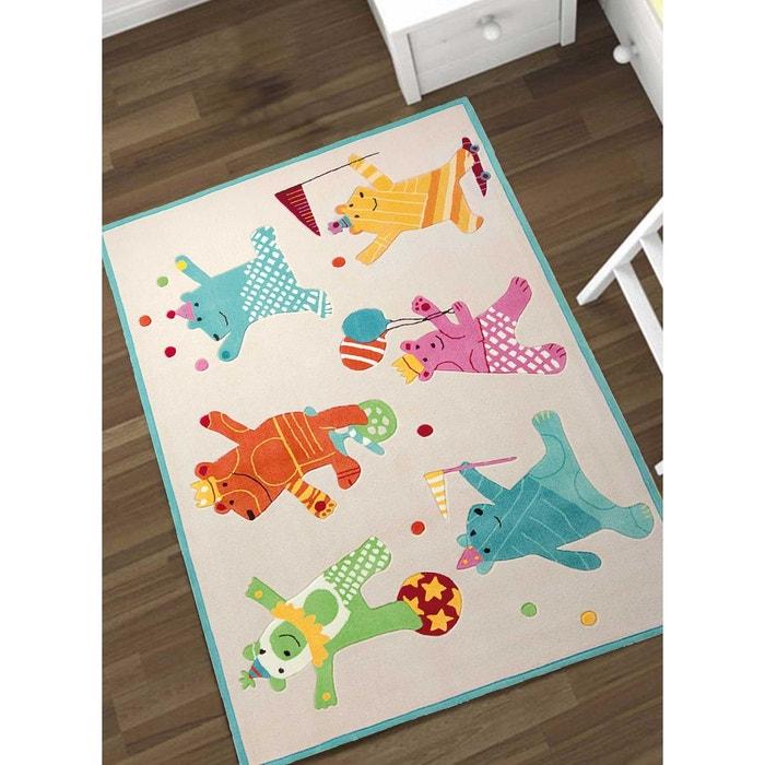 tapis pour enfants chambre dancing bears acrylique. Black Bedroom Furniture Sets. Home Design Ideas