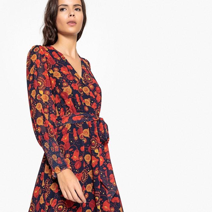 Платье расклешенное длинное с цветочным рисунком  La Redoute Collections image 0