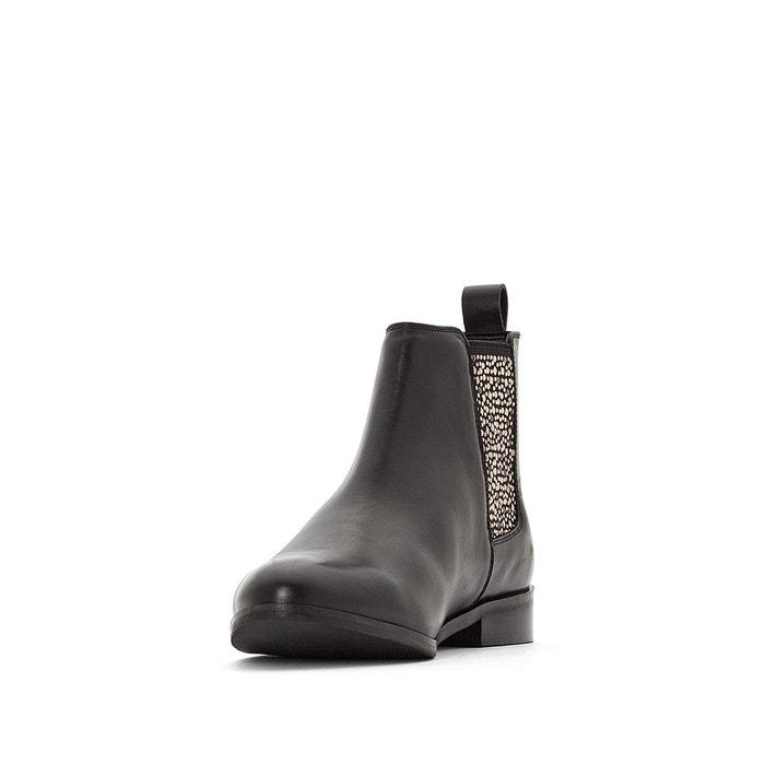 La Redoute Boots chelsea cuir ??lastique clout?? Vente Livraison Gratuite classique Prix De Liquidation Ak7mQMkw3l