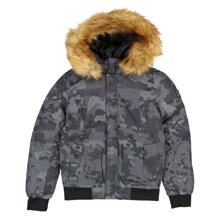 4479b45ac8e43 Blouson à capuche 10 - 16 ans camouflage Redskins