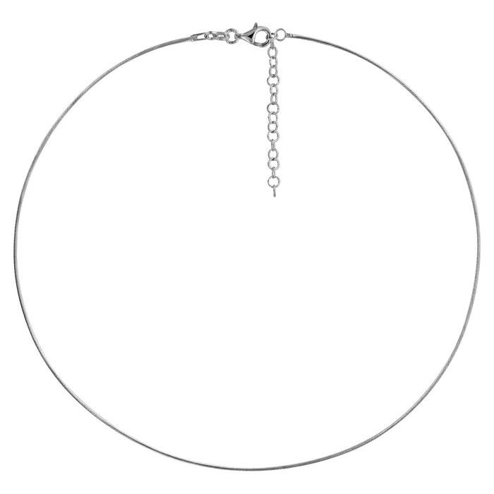 Collier longueur réglable: 42 à 47 cm câble tresse argent 925 couleur unique So Chic Bijoux | La Redoute Pas Cher Le Moins Cher Jeu Grande Vente DhpTb