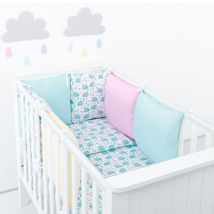 2003f64ad2370 Tour de lit à coussins modulables avec parure réversible - hérisson Sevira  Kids