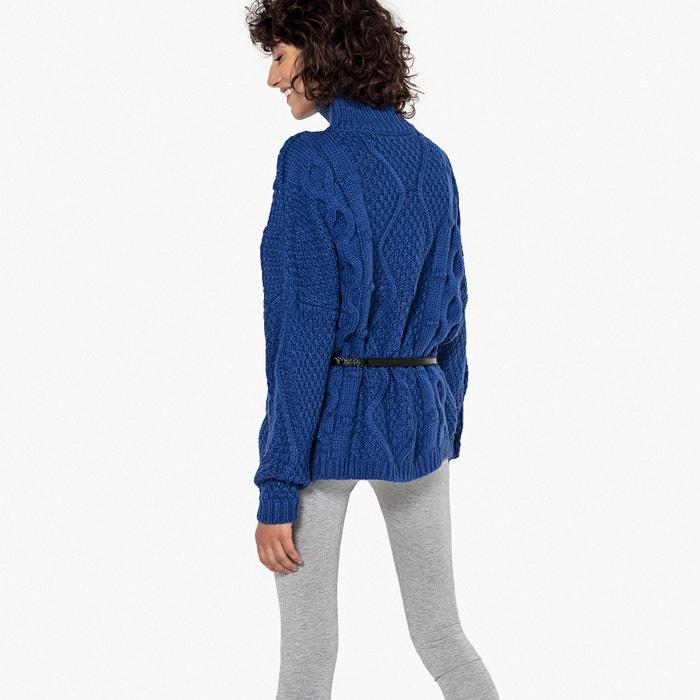 La Collections Jersey alto cuello y con Redoute trenzados 1wOv1q