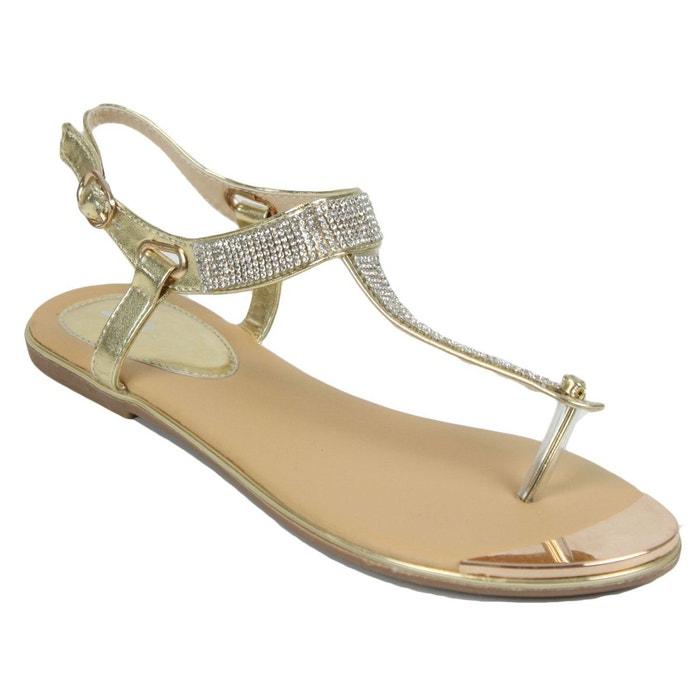 Sandales c52 gold Kebello