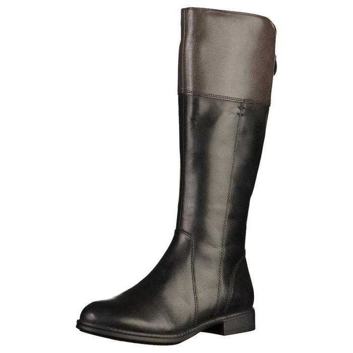 Bottes noir, gris Tamaris