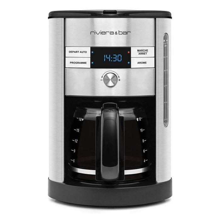 Cafetière filtre digitale inox CF540A