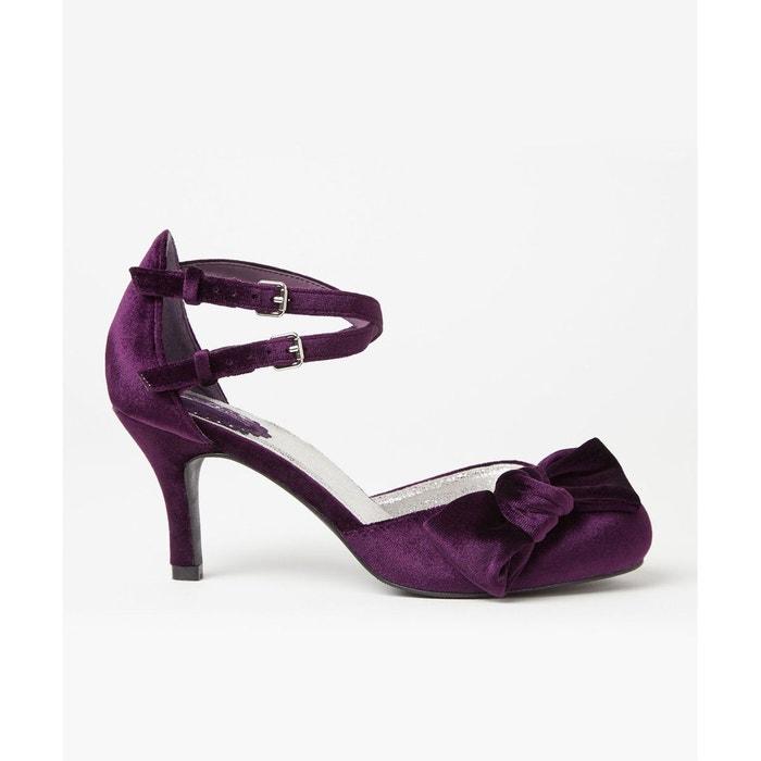 JOE BROWNS - Chaussures à Talon Velours Joe Brown Femme | La Redoute