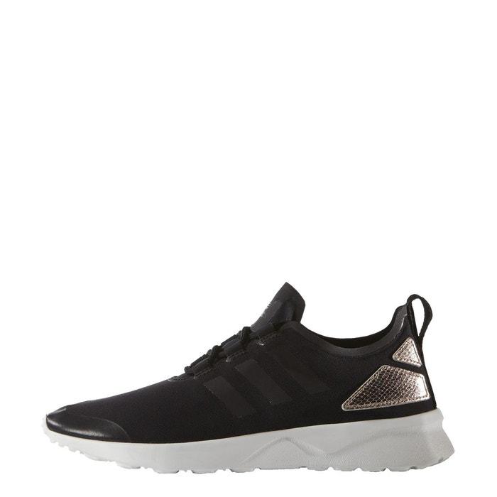 b42993250ad3b2 Adidas originals zx flux adv verve w chaussures mode sneakers femme noir  noir Adidas Originals La