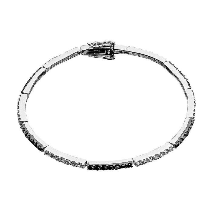 Bracelet argent 925/1000 oxyde multi couleur Cleor | La Redoute Nouvelle Arrivée Pas Cher En Ligne Vente Pas Cher Combien 0WmQDNxbX