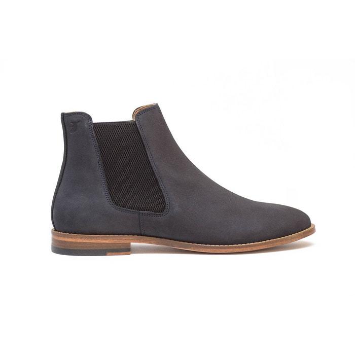 Chelsea boots en nubuck  bleu/gris Pied De Biche Paris  La Redoute