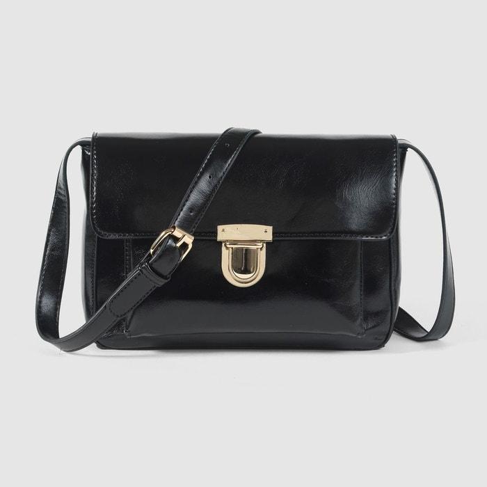 sac cartable noir mademoiselle r en solde la redoute. Black Bedroom Furniture Sets. Home Design Ideas