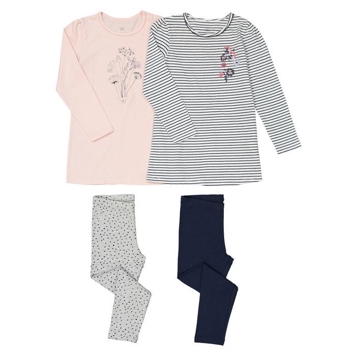 c5700f04e1 Lote de 2 pijamas estampados