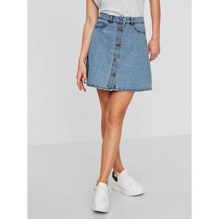 Jupe Patineuse courte en jean