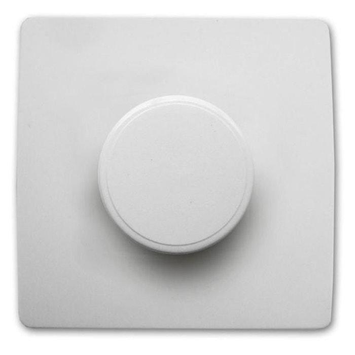 variateur 60 a 300 w vis griffes diwone blanc blanc mcd la redoute. Black Bedroom Furniture Sets. Home Design Ideas