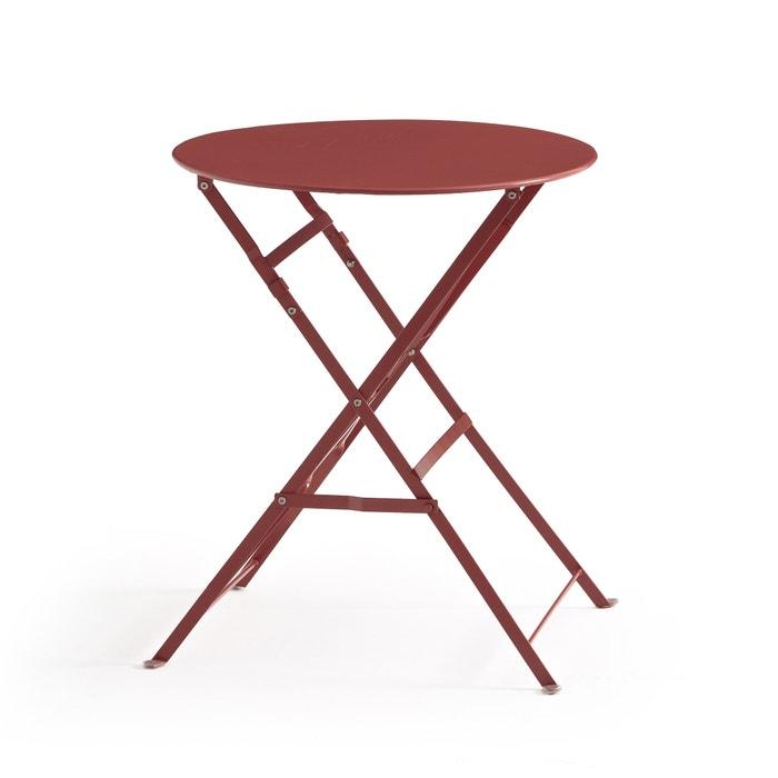 Velador mesa plegable de metal ozevan la redoute interieurs la redoute - Velador plegable ...