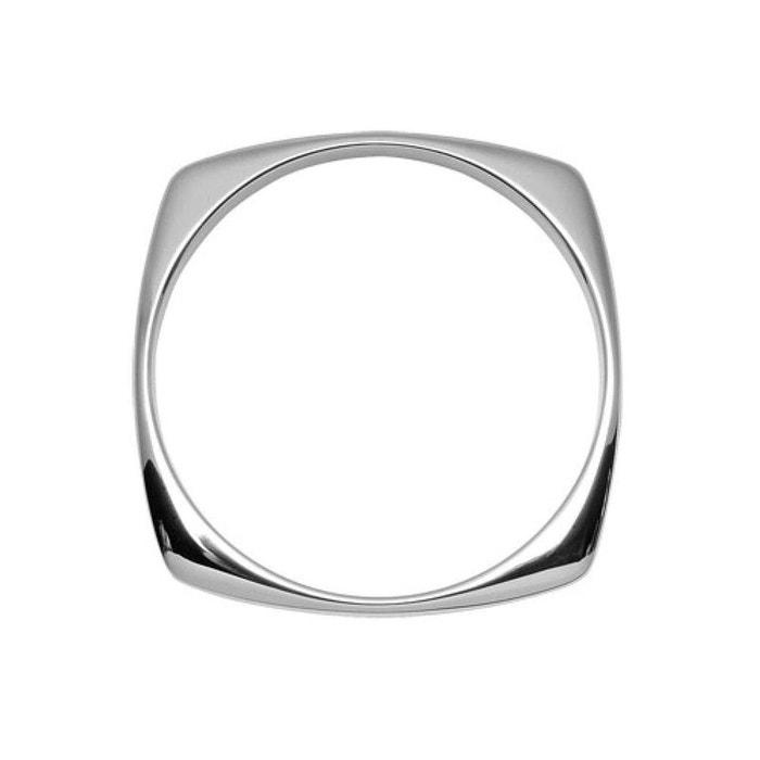 visite Professionnel Vente Pas Cher Bracelet femme jonc 65 mm moderne forme carrée arrondie acier inoxydable couleur unique So Chic Bijoux | La Redoute DrVoHa2K