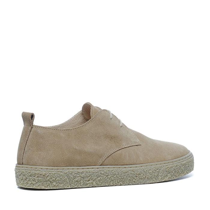Chaussures à lacets en daim Sacha